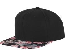 Snapback rosa / schwarz