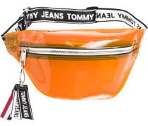Handtasche 'Tju Logo Tapt Umbag Tran'