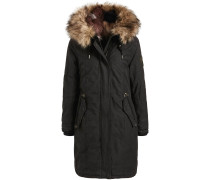 Mantel 'meryem2 Solid With Inner FUR Jacket'