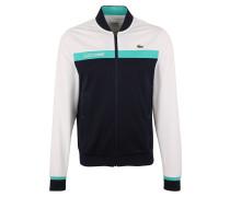 Tennisjacke blau / grün / weiß