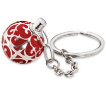 Schlüsselanhänger 'erk-05' grau / rot
