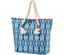 Beach Bazaar Strandtasche Damen blau