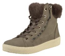 Sneaker weiß / braun / grau