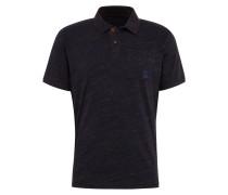 Poloshirt navy / dunkelorange