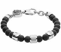 Armband 'Crank Dx1023040' schwarz / silber