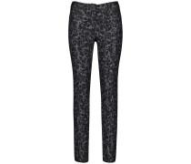 Jeans grau / schwarz
