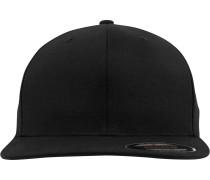 Cap 'Flat Visor' schwarz