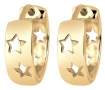 Ohrringe 'Sterne' gold