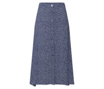 Rock 'button Thru Midi Skirt' elfenbein / navy