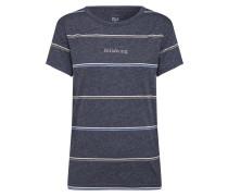 T-Shirt 'Ringer' dunkelgrau