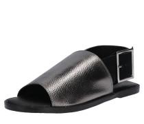 Sandale mit großer Schnalle