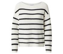 Pullover 'rush' schwarz / weiß