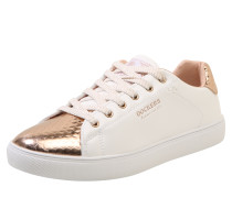 Sneaker rosegold / weiß