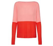 Pullover 'ihrillo LS' rosa / rot
