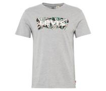 T-shirt 'housemark Graphic Tee' graumeliert