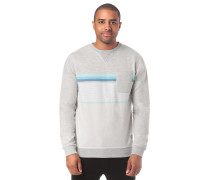 Yarn Dyed Stripe Crew Fleece Sweatshirt