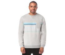 Yarn Dyed Stripe Crew Fleece Sweatshirt