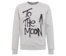 Sweatshirt 'Moon Raise' grau