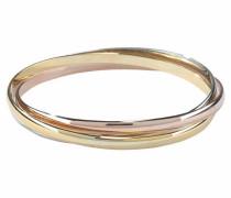 Armreif gold / rosa / silber