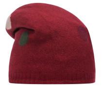 Mütze mischfarben / rot