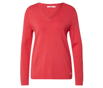 Pullover 'lana' pink / rot