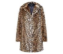 Jacke 'leopard FUR Crombie'