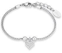 Armband mit Zirkonia »Herz So1443/1«