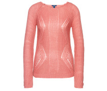 knit Strickpullover koralle