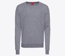 Pullover 'Strick Lvl5 Merino / Seide' grau
