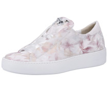 Sneaker pastellorange / rosa / weiß