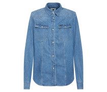 Jeanshemd '3301' blue denim