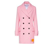 Mäntel 'structured Wool Peacoat' rosa