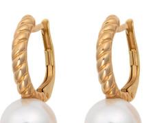 Ohrhänger gold / perlweiß