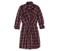 Blusenkleid 'knot Front Shirtdress Ext'