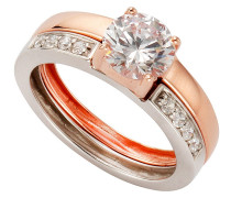 Ring rosegold / silber