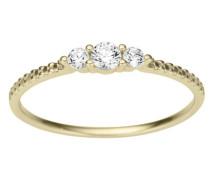 Ring gold / silber / weiß