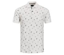 Poloshirt schwarz / weiß