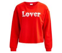 Sweatshirt 'viamore' orangerot