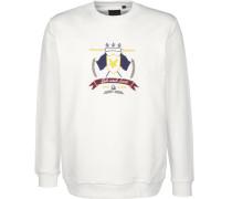 Sweater ' Crest ' weiß