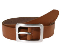 Ledergürtel 'soft vintage cow leather belt'