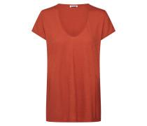 T-Shirt 'avivi' rostrot