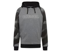 Sweatshirt 'Brian' grau / anthrazit