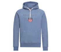 Kapuzen-Sweatshirt hellblau / mischfarben
