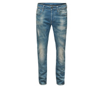 Jeans '3301 Slim' hellblau