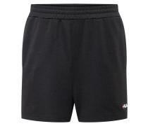 Shorts 'carlos' rot / schwarz / weiß