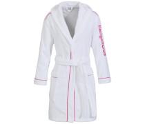 Bademantel 'Franzis' pink / weiß