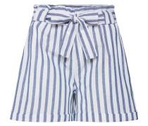 Shorts hellblau / weiß / offwhite