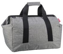 Reisetasche graumeliert / schwarz