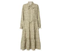 Kleid 'onlgrace L/S BOW Maxi Dress Wvn'