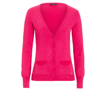 Basic Cardigan pink rosa